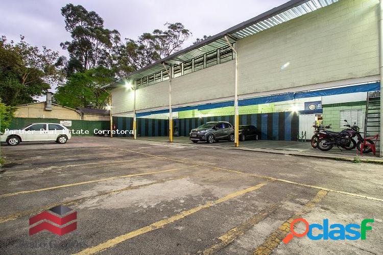 Galpão locação 400 m² área construída e 3.800 m² de terreno no jaguaré, sp.