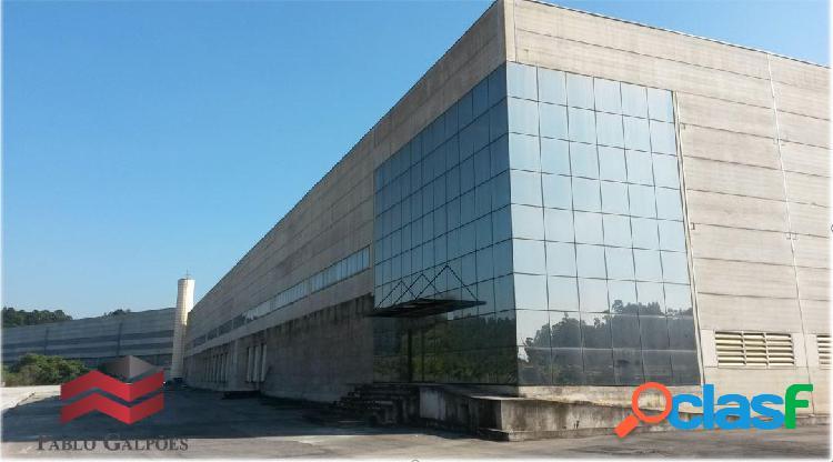 Galpão locação 7.404 m² - itapevi,sp