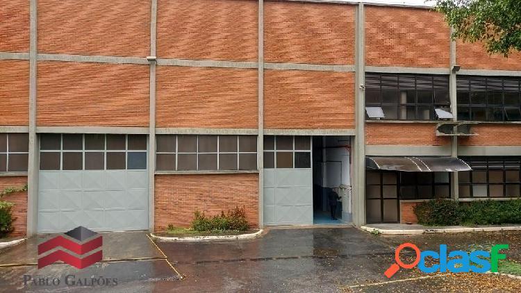 Galpão 2.800 m² locação alphaville barueri, sp.