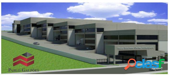 Condomínio galpão 1.653,70 m² locação osasco, sp.