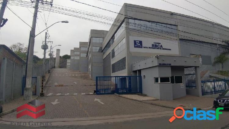Condomínio galpão 1.704,68 m² locação osasco, sp.