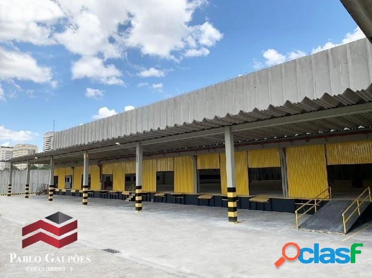 Galpão 6.961 m² locação alphaville tamboré barueri, sp.