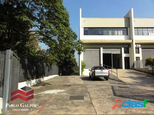 Galpão condomínio 1.403 m² locação alphaville tamboré barueri, sp.