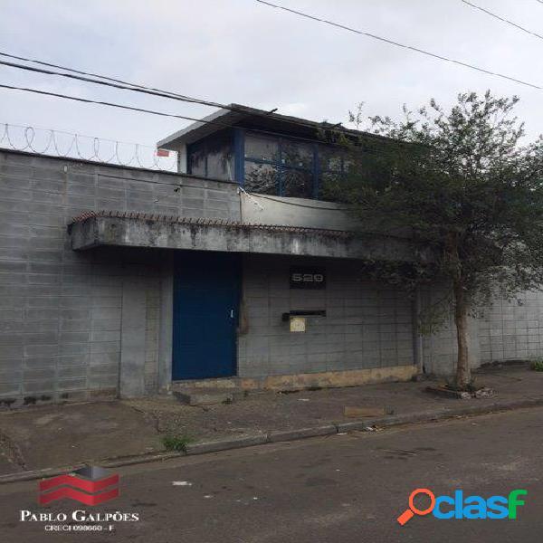Galpão 3.247 m² Locação Vila Leopoldina São Paulo, SP.