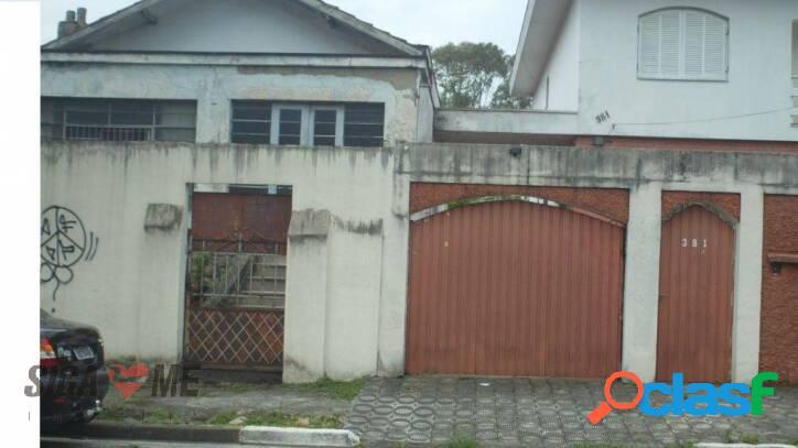 Terreno à venda, 500 m² por r$ 2.200.000,00 - campo belo - são paulo/sp