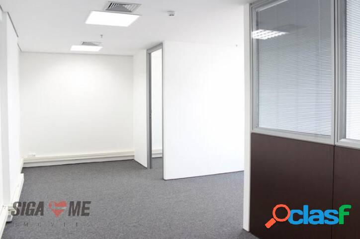 Sala para alugar, 150 m² por r$ 10.000/mês - consolação - são paulo/sp