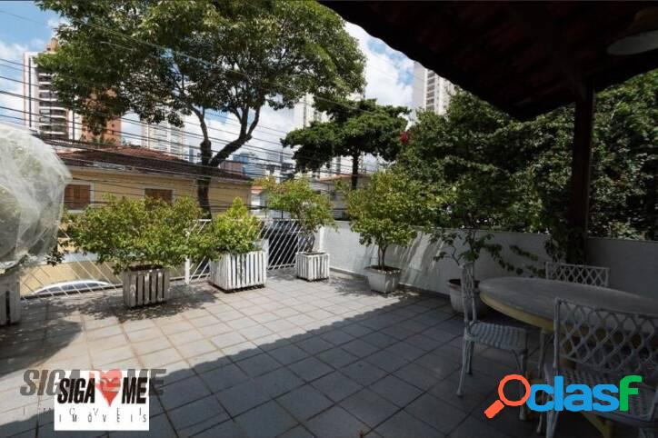 Sobrado com 4 dormitórios para alugar, 210 m² por r$ 8.500/mês - brooklin - são paulo/sp