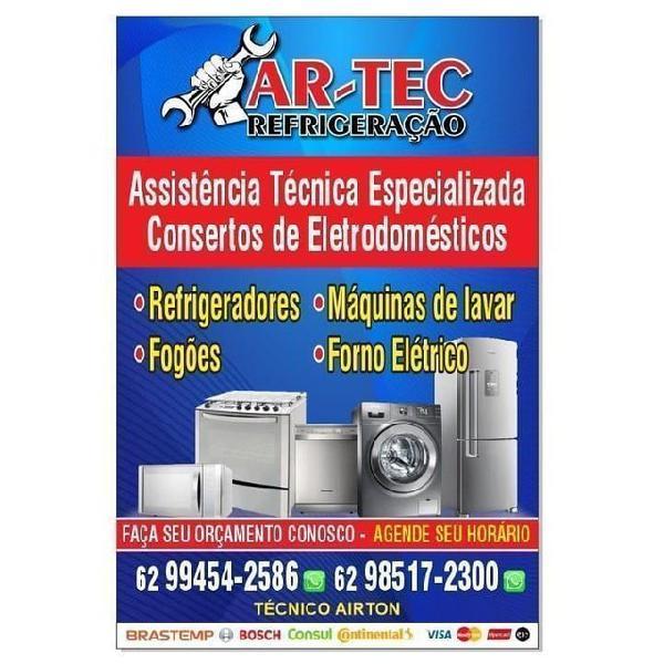 Assistência técnica artec refrigeração atendemos
