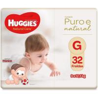 Recorrente] fralda huggies natural care g