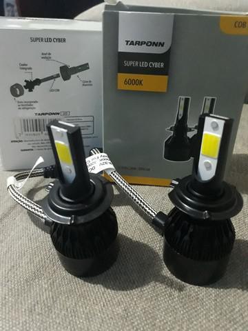 Super led cyber h7 (lâmpadas de qualidade)