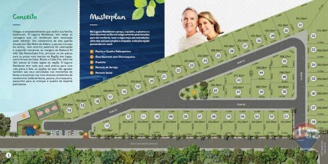 Terreno à venda, 252 m² a partir de r$ 220.000 - nova são