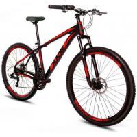 Parcelado] bicicleta xks aro 29 alumínio freio a disco 21v