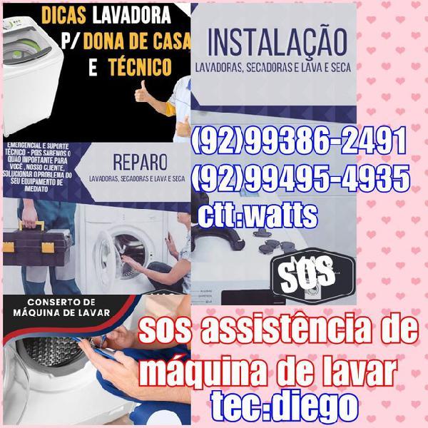 Assistência técnica (sos máquina)
