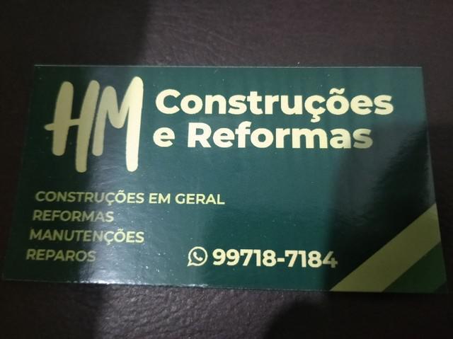 Construção, reformas e reparos