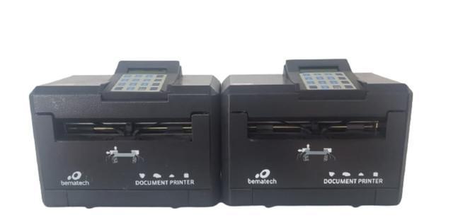 Lote impressora de cheque bematech dp20 document