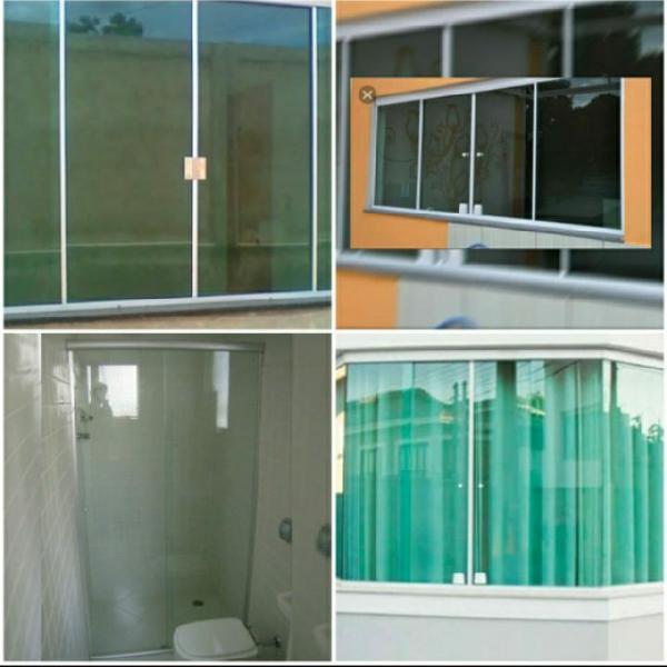 Vidros temperados e comuns espelhos e manutenção