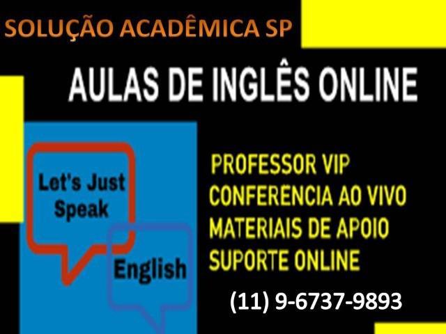 Aulas de inglês on line