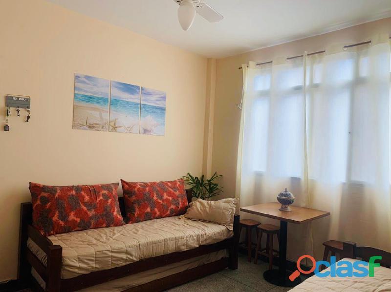 Apartamento Mobiliado 1 Dormitório 58 m² na Praia Grande   Vila Guilhermina.