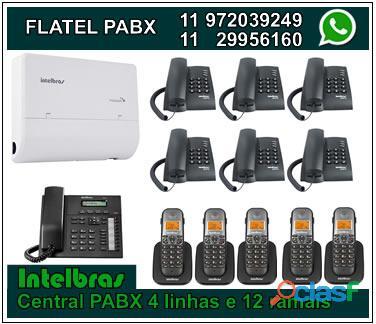 Assistência técnica, vendas e instalação de pabx digital e analógico