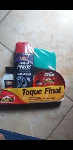 Completo kit limpeza para mós ou carros 40 reais