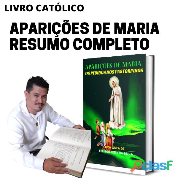 LIVRO FÍSICO APARIÇÕES DE MARIA