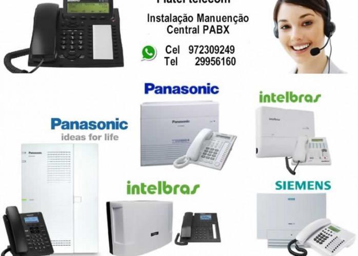 Manutenção,instalação e suporte centrais pabx