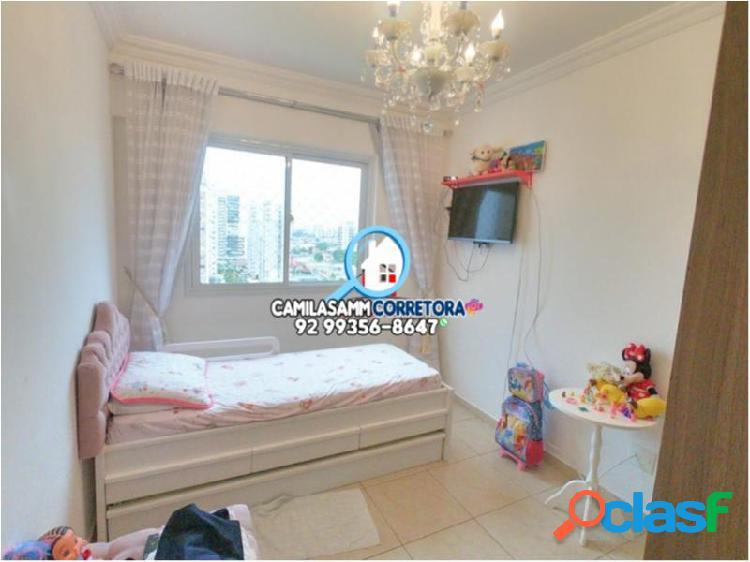 Mundi resort residencial - apartamento com 3 dorms em manaus - aleixo por 580 mil à venda