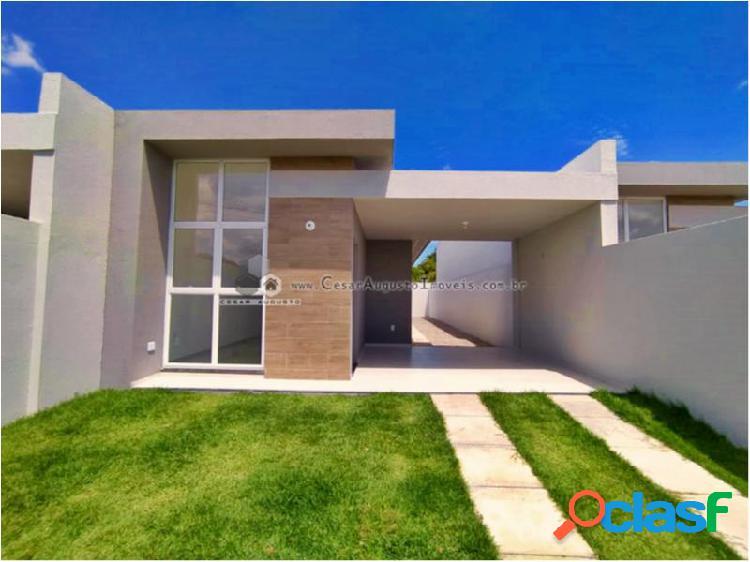Casas domus - casa com 2 dorms em eusébio - parque havai por 207.000,00 à venda