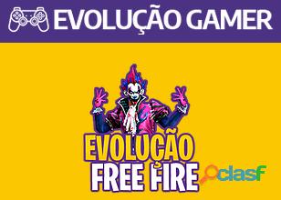 Evolução Gamer Free Fire