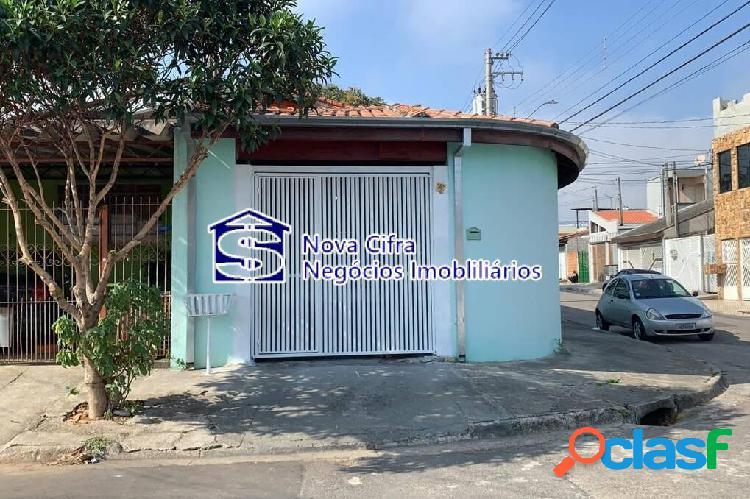 Casa térrea + edícula completa no jd. colonial - 180 m²