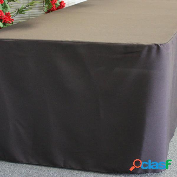 123cmx61cmx72cm cavalete de poliéster tampa de mesa cabida preta para caber 4 pés mercado justo barraca dobrável