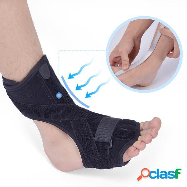 Corrector de flacidez do pé esporte fitness pé gota ortose achilles protetor protetor suporte de proteção