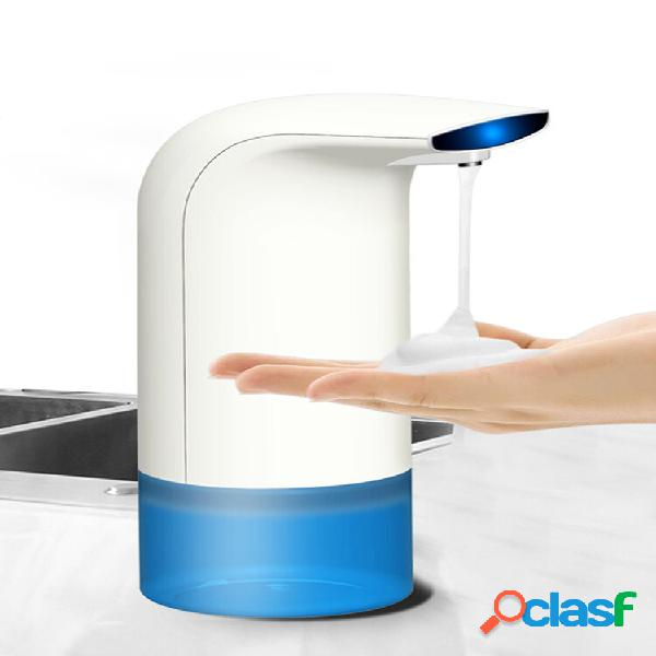 350ml espuma de indução automática banheiro lavadora de mão infravermelho sensor sabão dispensador