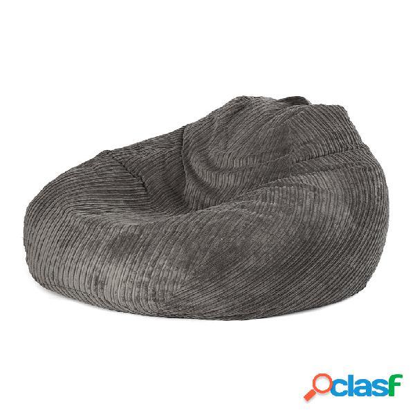 Feijão de veludo cotelê 100x120cm cor sólida bolsa capa para cadeira home sala de estar quarto jogo capa para cadeira