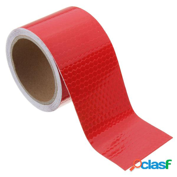 3m long safety caution fita reflexiva etiqueta de fita adesiva fita adesiva auto-adesiva