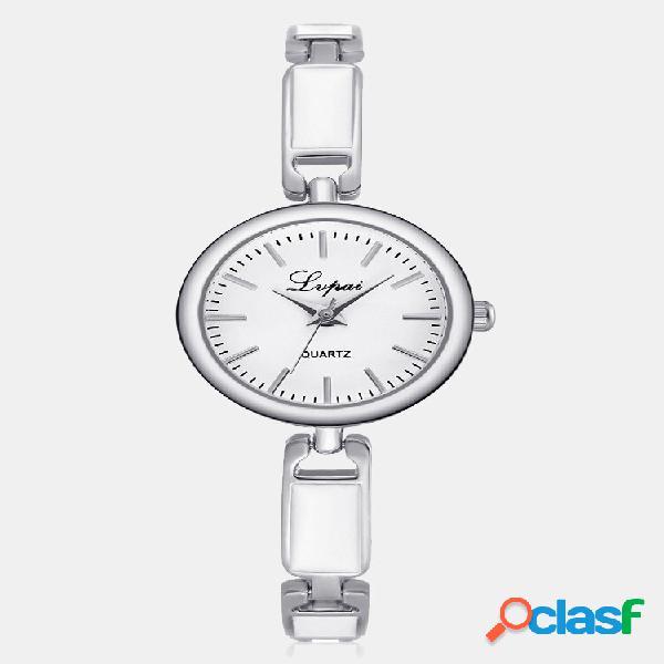 Relógios de pulso de quartzo da moda de aço inoxidável strass pulseira fina joias elegantes para mulheres
