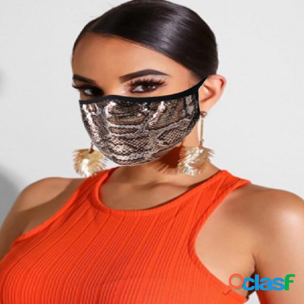 Algodão máscara rosto de impressão de moda máscara