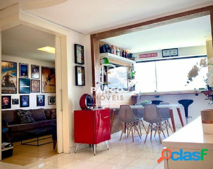Apartamento 03 quartos, vista panorâmica a venda no vila da serra