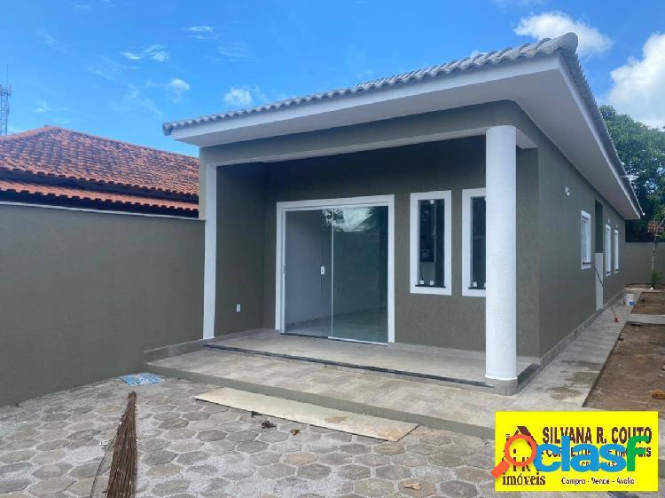 Itaipuaçu- casa 3 quartos perto praia- r$ 385 mil