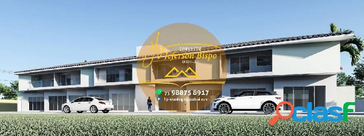 Casas duplex em condomínio (porto seguro)