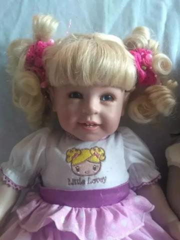 Boneca adora doll little lovey original