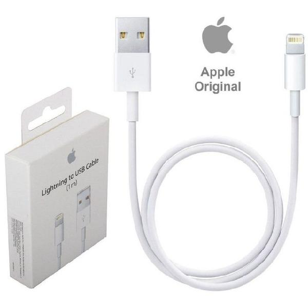 Cabo carregamento apple usb original iphone 1m