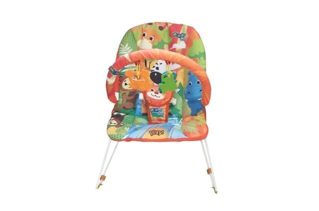 Cadeira de descanso musical bebê savana
