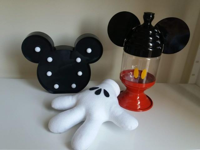 Decoração festa mickey - 3 peças