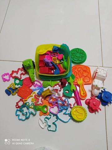 Kit de moldes da massinha play doh