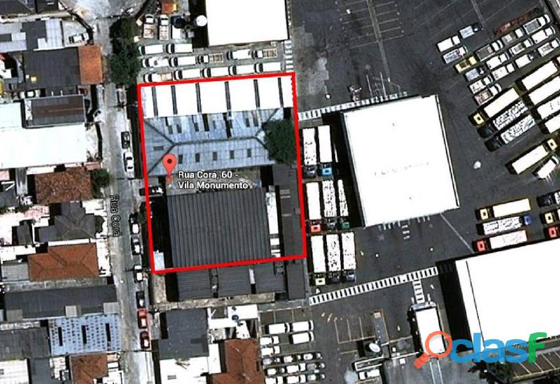 Locação ou Venda de Galpão Comercial,Com 1230 M² No Ipiranga