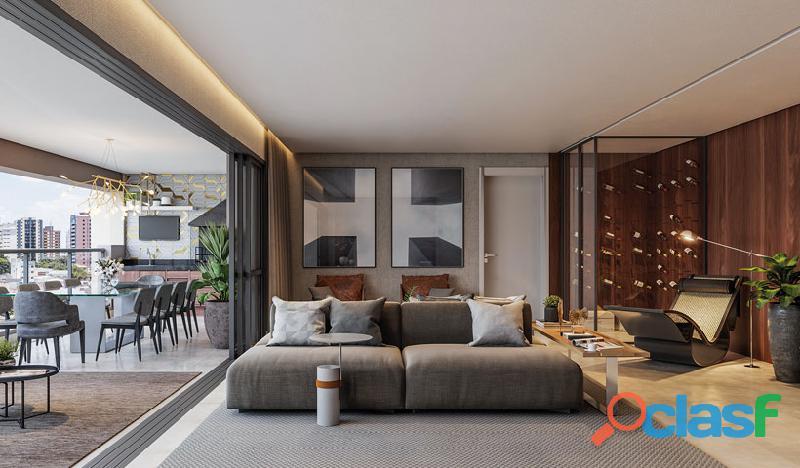Luxuoso Apartamentos Alto padrão Em Obra,Com 163 M² No Haute Ibirapuera 1