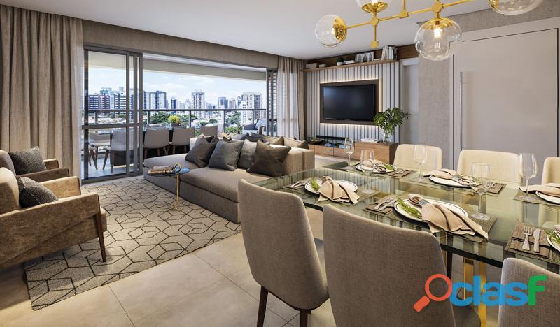 Luxuoso Apartamentos Alto padrão Em Obra,Com 163 M² No Haute Ibirapuera 4