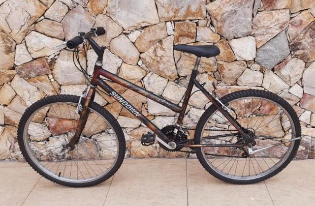 Bicicleta sundown aro 26 com 21 marchas