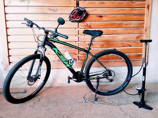 Bicicleta aro 29 usada poucas vezes